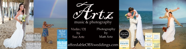 Outer Banks Weddings by Artz Music & Photography - affordableOBXweddings.com