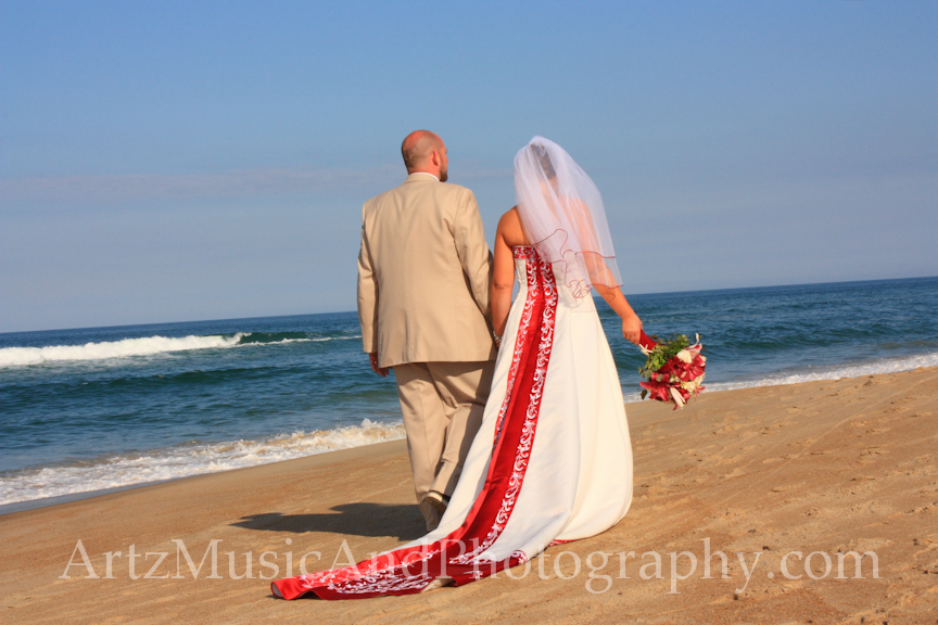 Outer Banks Real Wedding Reenie Amp Ben Kitty Hawk NC