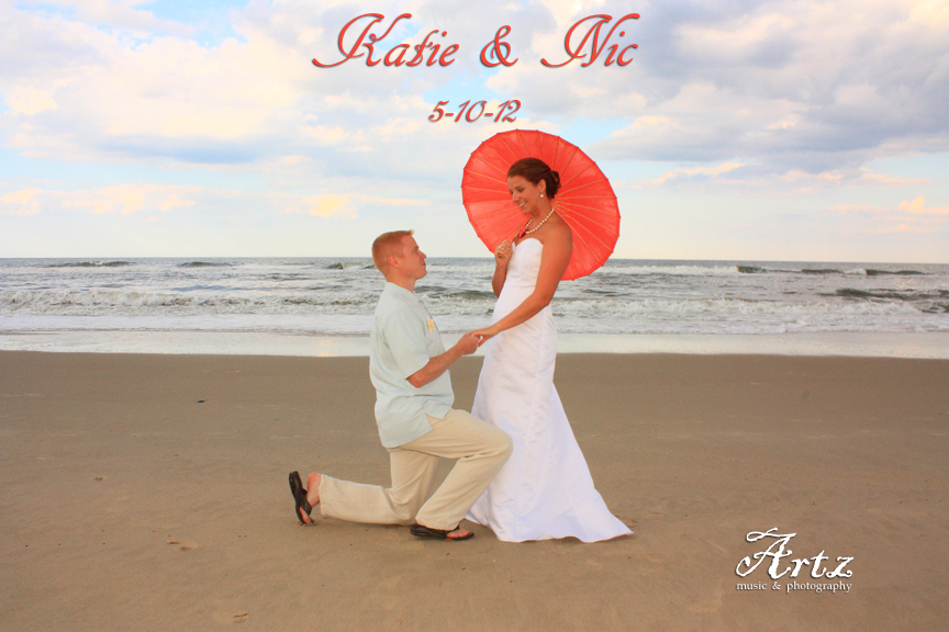 Katie & Nic - 01 (photo by Artz Music & Photography)