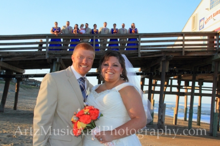Kristin & Derrick - Outer Banks Weddings photo by ARTZ MUSIC & PHOTOGRAPHY / affordableOBXweddings.com.