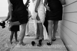 Outer Banks Weddings photo by ARTZ MUSIC & PHOTOGRAPHY / affordableOBXweddings.com.