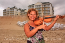 Sue Artz - Outer Banks Weddings photo by ARTZ MUSIC & PHOTOGRAPHY / affordableOBXweddings.com.