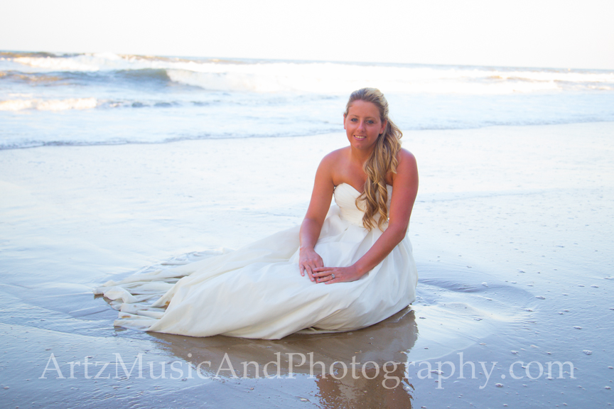 Lauren, photographed by Matt Artz in Kill Devil Hills, NC.