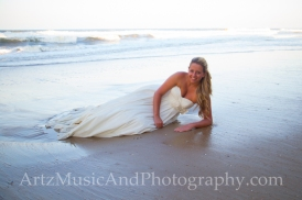 Lauren, photographed by Matt Artz in Kill Devil Hills, NC.