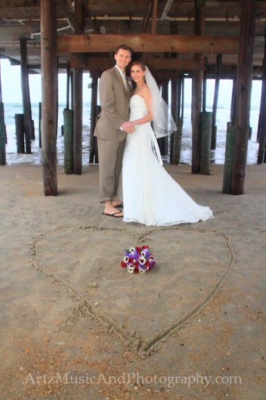 Sarah & Jack, Outer Banks Weddings photo by ARTZ MUSIC & PHOTOGRAPHY / affordableOBXweddings.com.