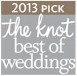 Artz Music & Photography wins The Knot 2013 Best of Weddings Award!