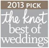 Artz Music & Photography wins The Knot 2013 Best of Weddings Award!