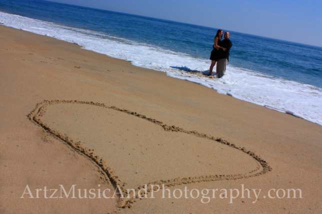 Outer Banks Engagement Portrait by Artz Music & Photography