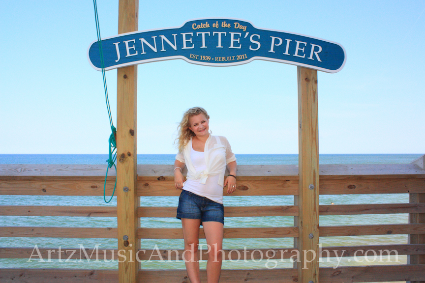 Outer Banks Senior Pictures by ARTZ MUSIC & PHOTOGRAPHY / OBXFamilyBeachPortraits.com.