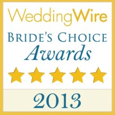 2013 BRIDE'S CHOICE AWARD WINNERS!