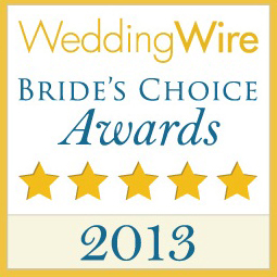 Artz Music &  Photography is a WeddingWire2013 Bride's Choice Award Winner!