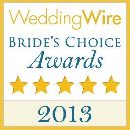 Artz Music &  Photography is a WeddingWire2013 Bride's Choice Award Winner!