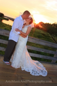 Steffni & Andrew, Outer Banks Wedding Photo by ARTZ MUSIC & PHOTOGRAPHY