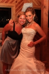 Sue Artz with Outer Banks bride Letty. Photo by Artz Music & Photography.