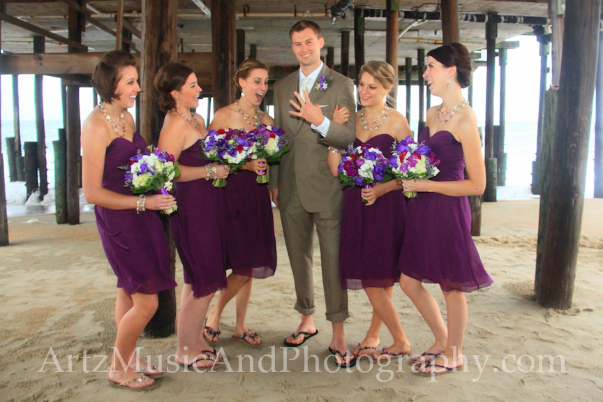 Sarah & Jack - Outer Banks Wedding photo by Artz Music & Photography.