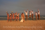 Vanessa & Josh - Outer Banks Wedding photo by Artz Music & Photography.