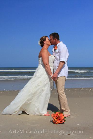 Christina & John - Outer Banks Wedding photo by Artz Music & Photography.