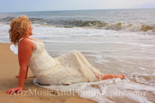 Danielle, photographed by Matt Artz in Kill Devil Hills, NC