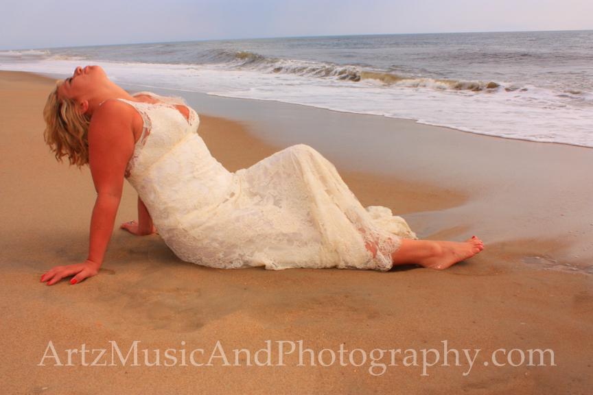 Danielle, photographed by Matt Artz in Kill Devil Hills, NC