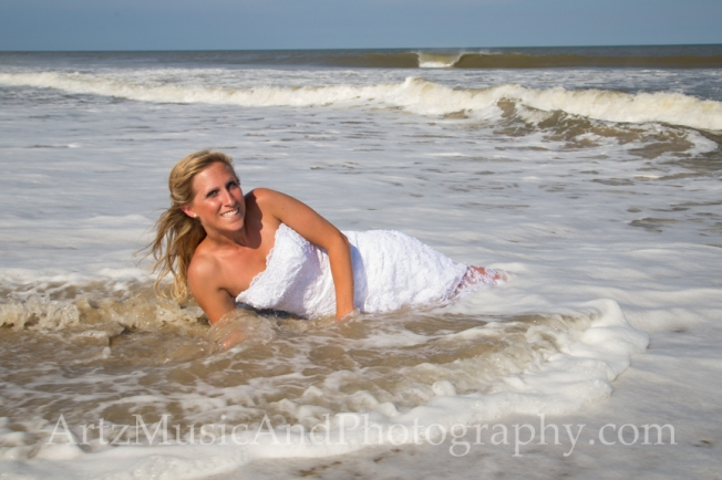 Kayla, photographed by Matt Artz in Nags Head, NC