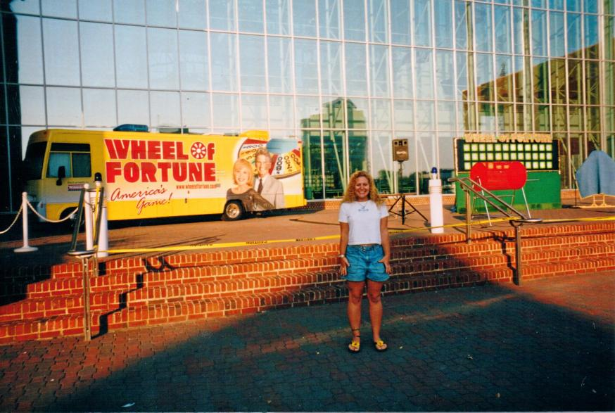 Sue Artz at the 'Wheel of Fortune' auditions in Virginia Beach, October 2001.