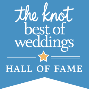 The Knot Best of Wedding Hall of Fame Award
