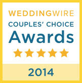WeddingWire 2014 Couple's Choice Award