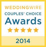 WeddingWire 2014 Couple's Choice Award