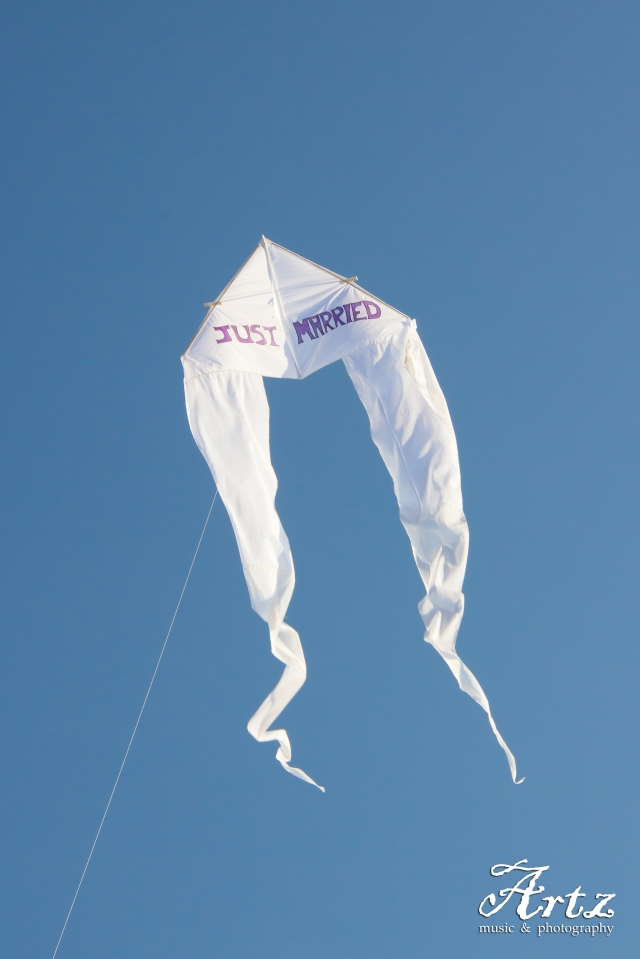 CLICK HERE to Get Your 'JUST MARRIED' Kite Now!