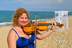 Outer Banks Wedding Violinist Sue Artz – 5/11/14 – photo by Matt Artz for ARTZ MUSIC & PHOTOGRAPHY
