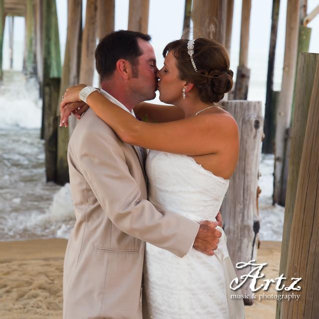 Outer Banks Wedding – 6/13/14 – photo by Matt Artz for ARTZ MUSIC & PHOTOGRAPHY