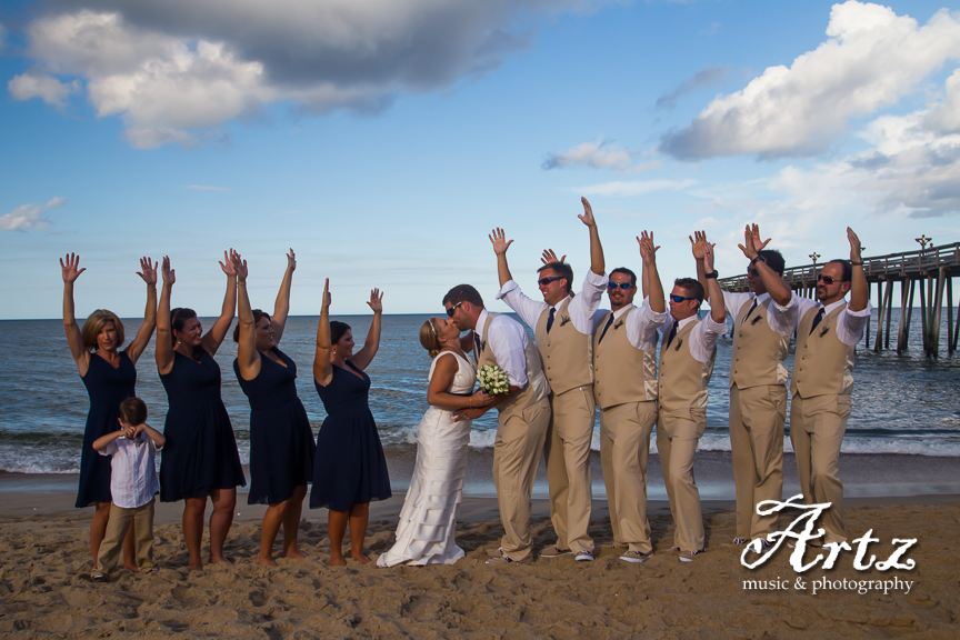 Outer Banks Wedding - 9/6/14 - photo by Matt Artz for ARTZ MUSIC & PHOTOGRAPHY