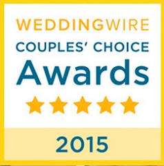 2015 WeddingWire COUPLES' CHOICE AWARD WINNERS!