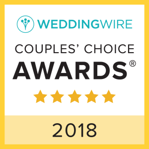 WeddingWire 2018 Couples' Choice Winner
